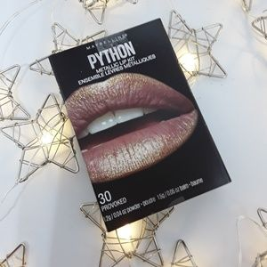Maybelline Python Metallic Lip Kit Provoked pink